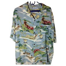 Old School Aloha Shirt