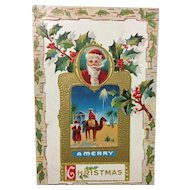 Nativity + Santa
