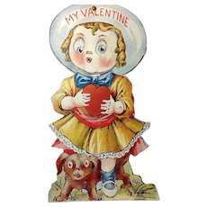 Mechanical, Googly-eyed Valentine