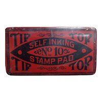 Small Advertising Tin Early 1900s