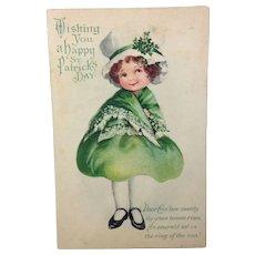 Irish Lass: Postcard