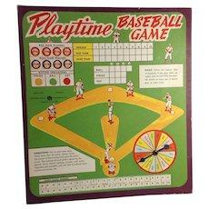 Playtime Baseball Game: Playtime House
