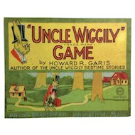 1916 Uncle Wiggily Game Board: Milton Bradley