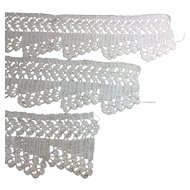 Crocheted Trim 3 Pieces