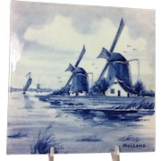 Delfts Blauw Tile / Holland