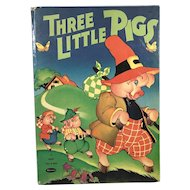 1941 Whitman Pub. Three Little Pigs