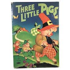 1941 Whitman Pub. Three Little Pigs