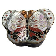 Butterfly Cloisonne Box