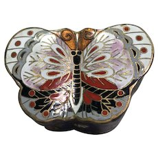 Butterfly Cloisonne Box