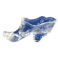 Moser Glass Slipper