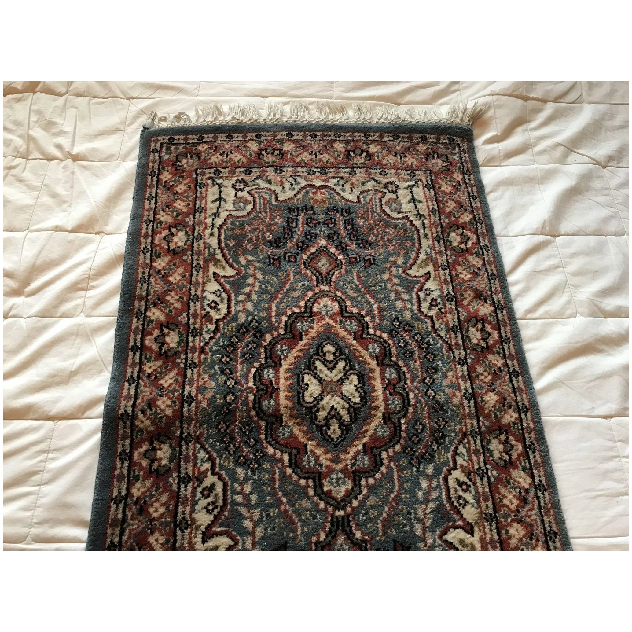 Indian Jaipur Small Wool Rug Why