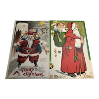 1908/09 Unusual Santa Postcards