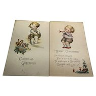 Signed Ruth Welch Silver Christmas