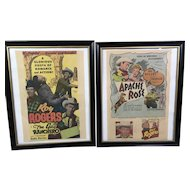 '47/'48 Roy Rogers Movie Ads.