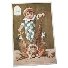 La Victoire: Victorian Trade Card