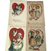 4 Heart-framed Valentine Child Couples: Wolf