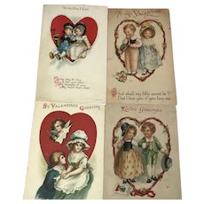 4 Heart-framed Valentine Child Couples: Wolf