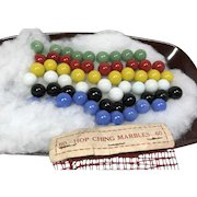 60 Hop Ching Marbles for Chinese Checkers