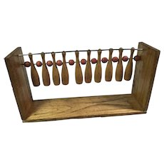 Old Wooden Target Game