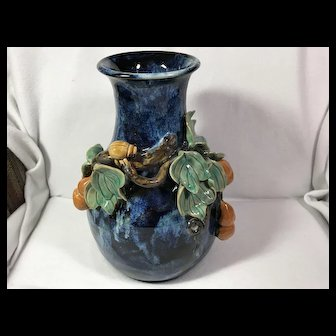 Hand Thrown; Hand Decorated Vase