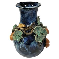 Hand Thrown; Hand Decorated Vase