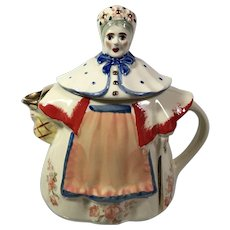 Shawnee Granny Ann Teapot with Fold Trim