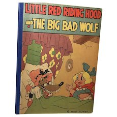 Walt Disney Studios: Little Red Riding Hood and The Big Bad Wolf