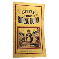 McLoughlin Brothers: Aunt Effie's: Little Red Riding Hood