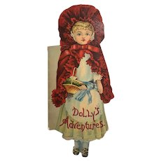 McLoughlin Brothers : Little Red Riding Hood: Dolly's Adventures 1895