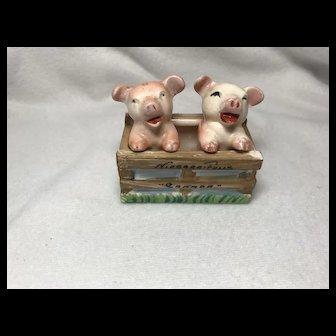 Occupied Japan: Pigs In Pen: S&P