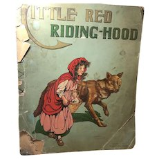 1912 McLoughlin Bros: Little Red Riding Hood