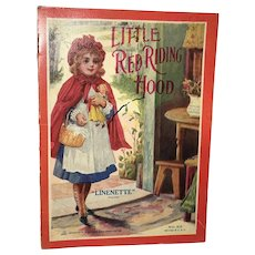 1911 Sam Gabriel Sons & Company: Little Red Riding Hood: Linette No.301