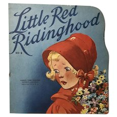 1950 Little Red Riding Hood: Soft Cover Book