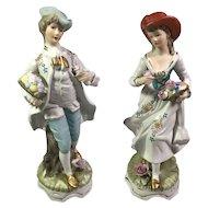 Porcelain Bisque Couple