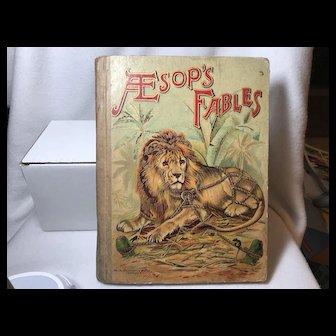 Pre 1918 M.A. Donohue's Aesop's Fables