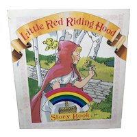 Cardstock Story Book Little Red Riding Hood