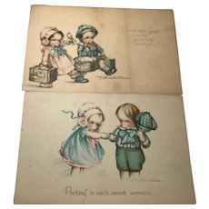 Goodby Postcards Ruth Welch Silver