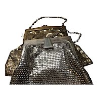 2 Whiting & Davis Co. Mesh Purses
