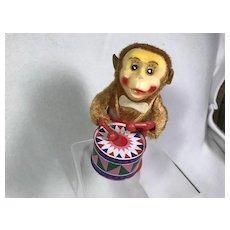Wind Up Drumming Monkey