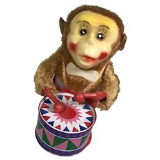 Wind Up Drumming Monkey