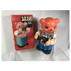 Clockwork Bear with Camera