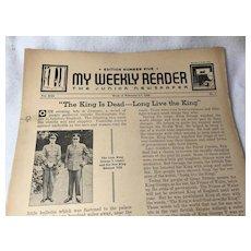 1935-36 My Weekly Reader - The Junior Newspaper 24