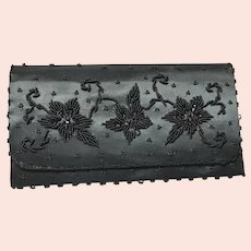 Emson Hand Beaded Evening Clutch