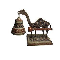 Cloisonné Camel Tap Bell