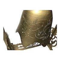 Pagoda Frame  Brass Bell