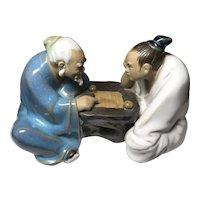 China Mudmen Playing Game