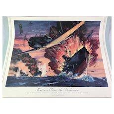 8 Dynamic WWII Calendar Art / Charles H. Hubbell