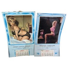 Two Pin-up Calendars '65/66