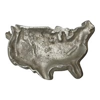 Cast Aluminum US Map