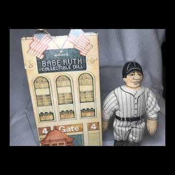 Babe Ruth Hallmark Collector's Doll